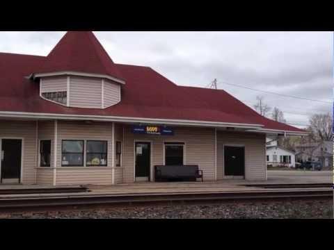 Gananoque Jct Ontario Canada CN Rail, VIA Rail