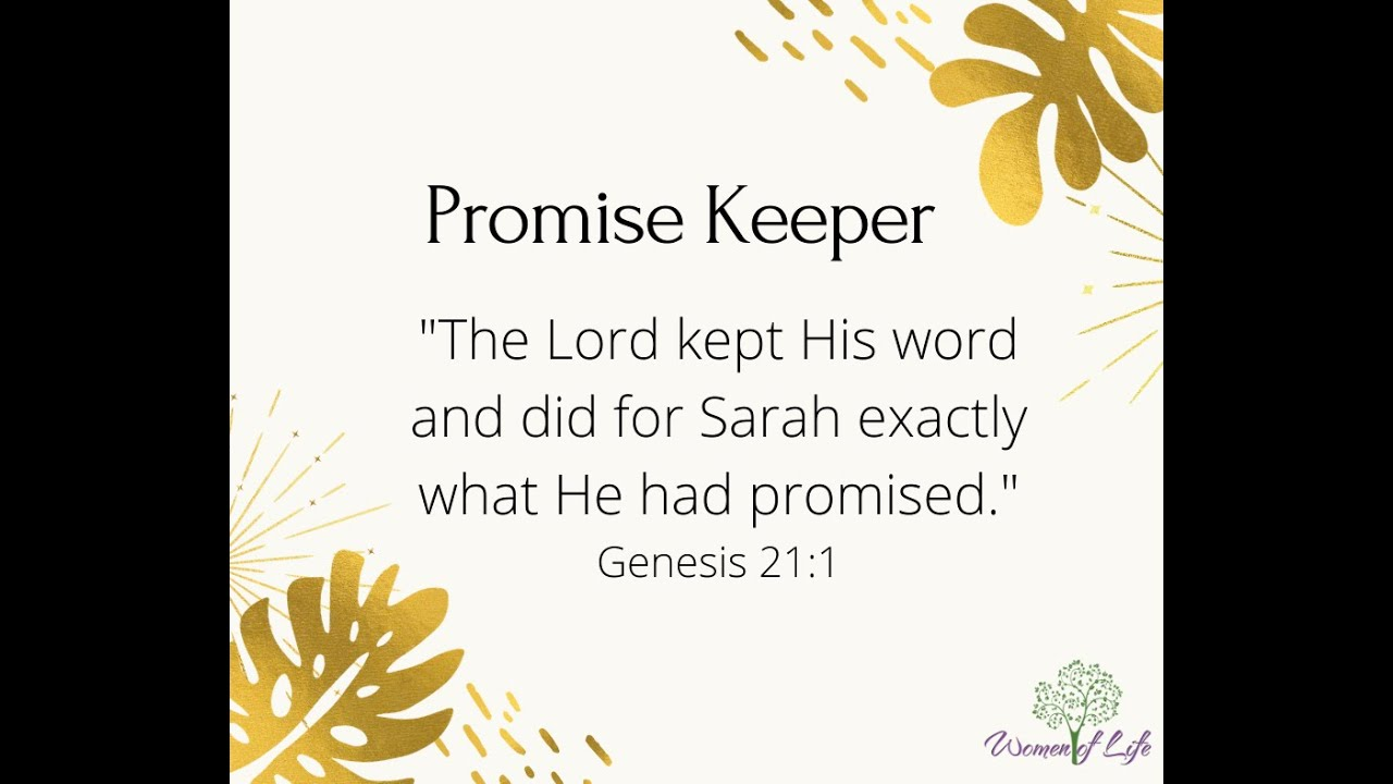 Promise Keeper!