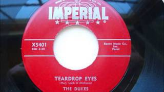 DUKES - TEARDROP EYES / SHIMMIES & THE SHAKES - IMPERIAL X5401 - 1956