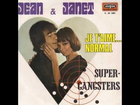 JEAN ET JANET / JE T'AIME...NORMAL