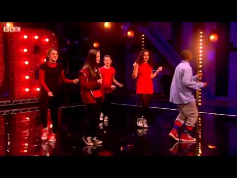 Sport Relief Does Glee Club  Simone Lahbib BOOM
