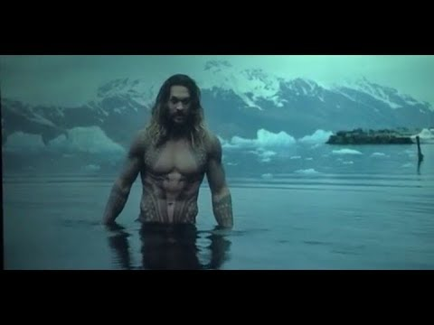 Aquaman River Entry Scene in the Movie Justice League 2017