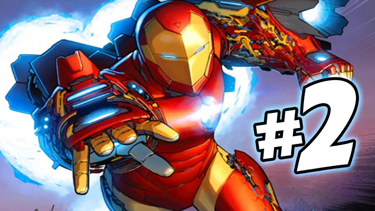 Iron Man Da Stampare: Invincible Iron Man (All-New All-Different) Issue #2 Full
