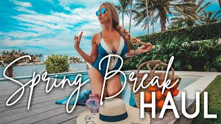 Spring Break & Vacation HAUL | Beauty products & Best Bathing Suits