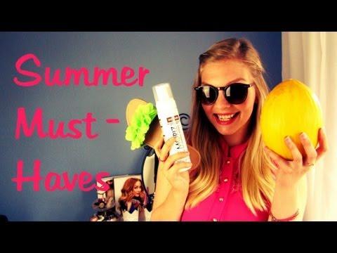 Summer Must Haves TAG- Beauty & Fashion | Make-Up Monday