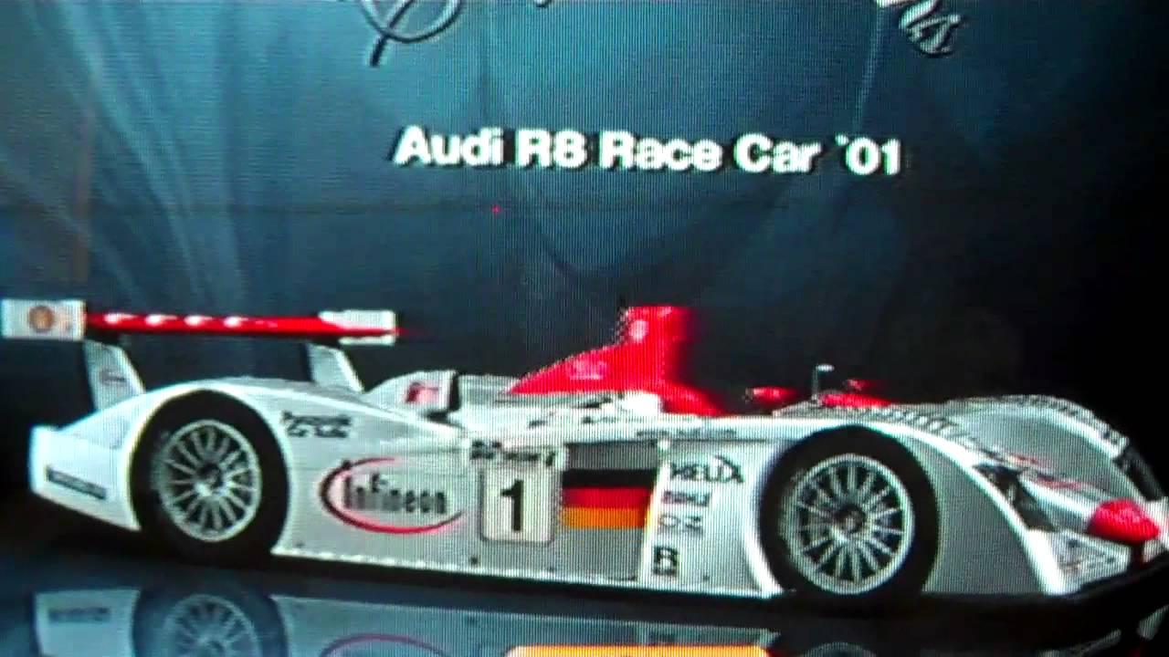 Gran Turismo Sarthe Hour GT Actual Hours Get An Audi R - Audi r8 race car 01 gt6