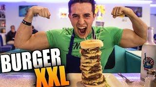 MANGER UN HAMBURGER XXL !!
