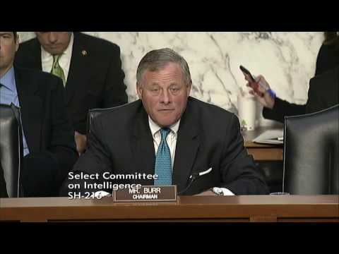 Intelligence Committee: Burr opening statement on National Geospatial-Intelligence Agency