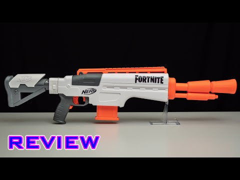 [REVIEW] Nerf Fortnite IR   Infantry Rifle