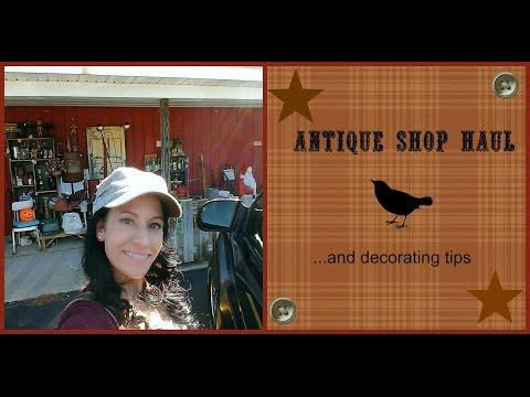 Antique Shop Haul