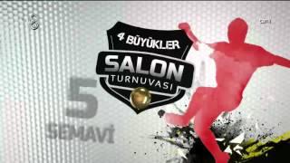 Turnuvanın En İyi 10 Golü | 4 Büyükler Salon Turnuvası | (16.01.2016)