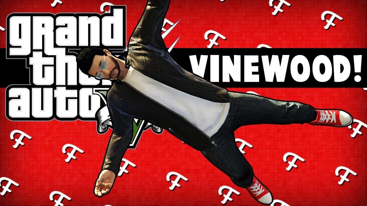 GTA 5: Inside Character Glitch, Jumping Vinewood Sign Platforms