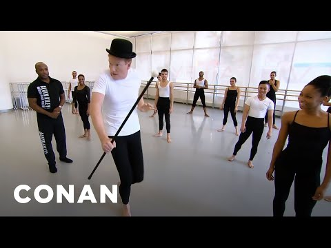 Thumbnail: Conan Learns To Dance At Alvin Ailey - CONAN on TBS