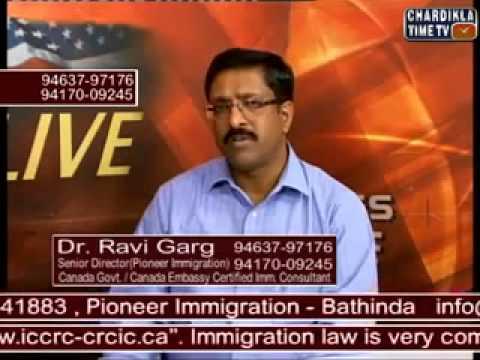 Ravi Garg of pioneer immigration misleading students
