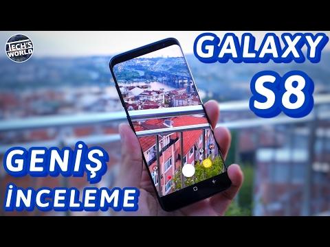 Samsung Galaxy S8 Geniş İnceleme (Çok Detaylı !) 4.000₺ Değer Mi?