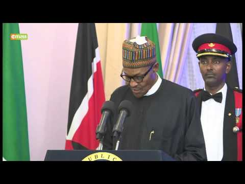 State Banquet for Buhari