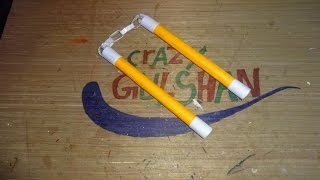 How to Make a Paper Nunchakus