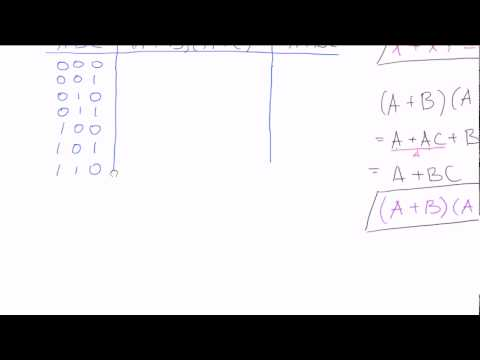 Logic Simplification Examples Using Boolean Rules