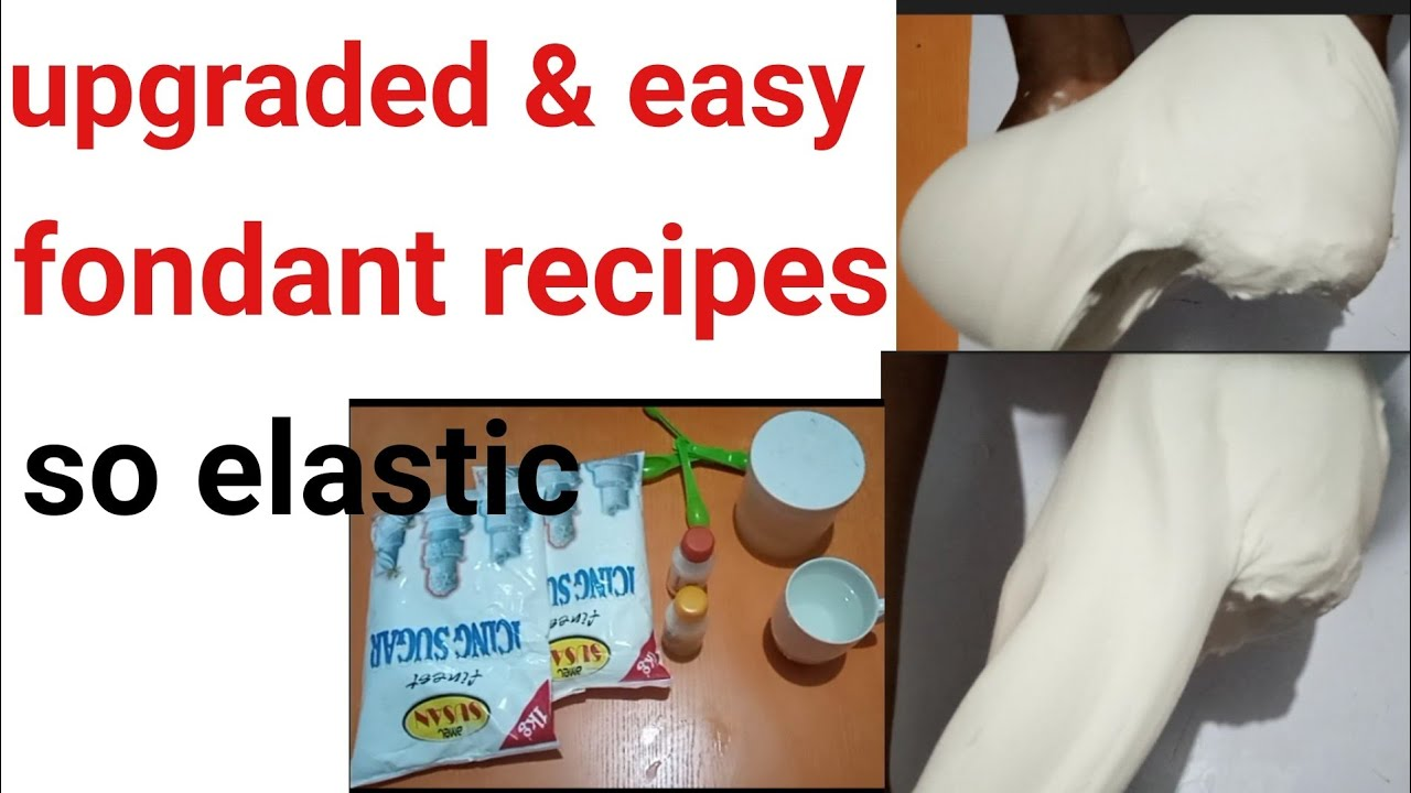 Download How to make fondant  Nigeria recipes/ very elastic and soft/fondant tutorial