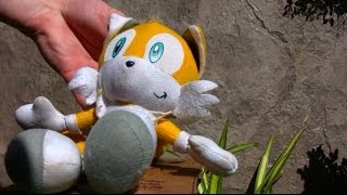 Sonic Plush Adventures-Pizza Delivery