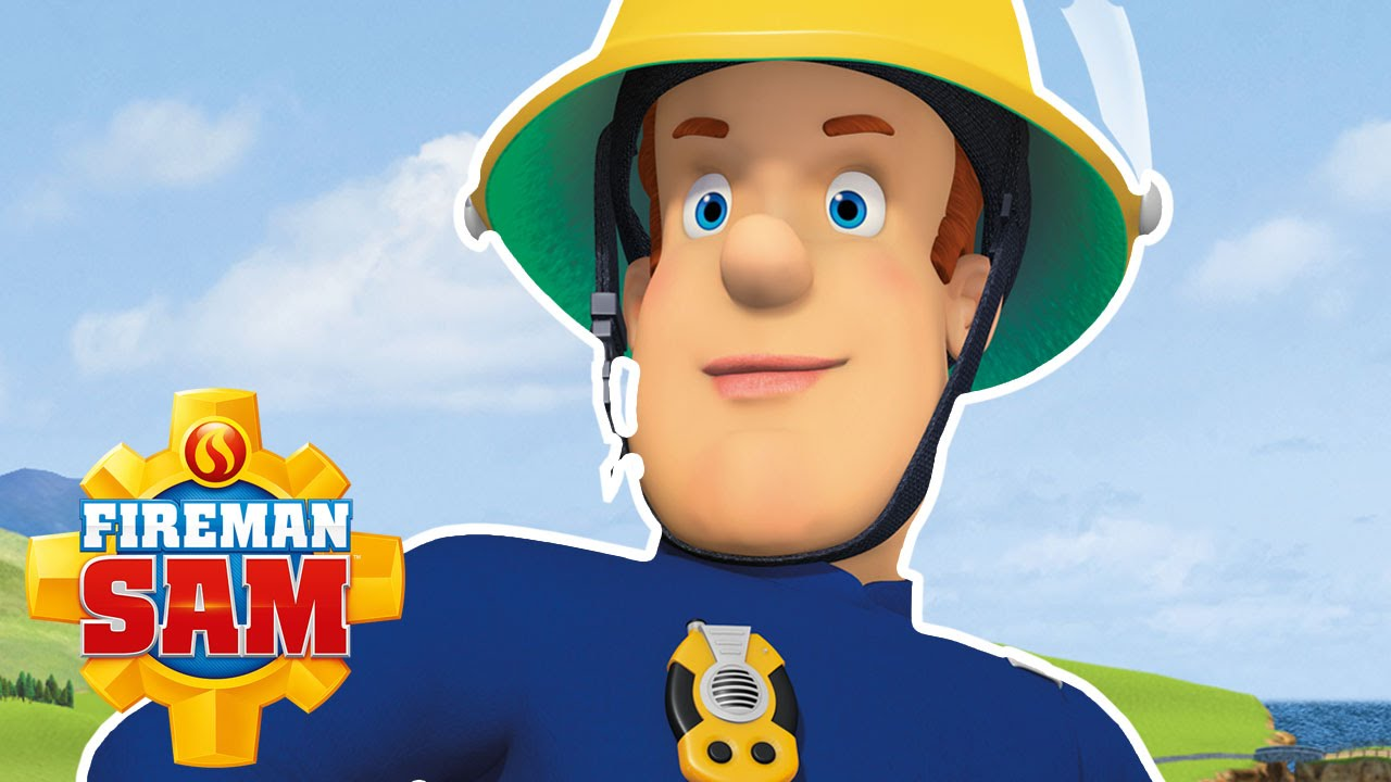 It is a photo of Adorable Fireman Sam Pic