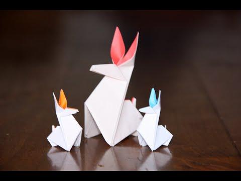 Origami Lapin Rabbit Senbazuru Youtube