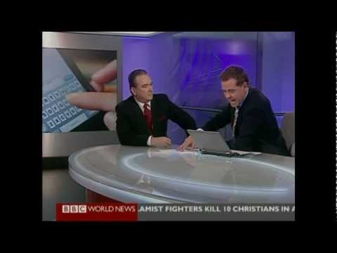 Adrian Barnard BBC World Interview on SMS 20th Anniversary