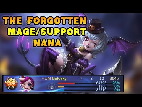 Where Is Nana Now? The Forgotten Mage/Support - Mobile Legends