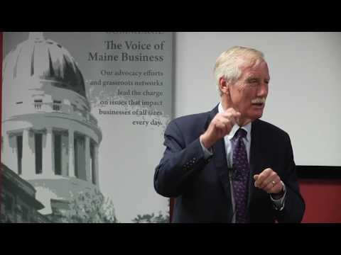 Maine State Chamber - Energy Briefing with Senator Angus King