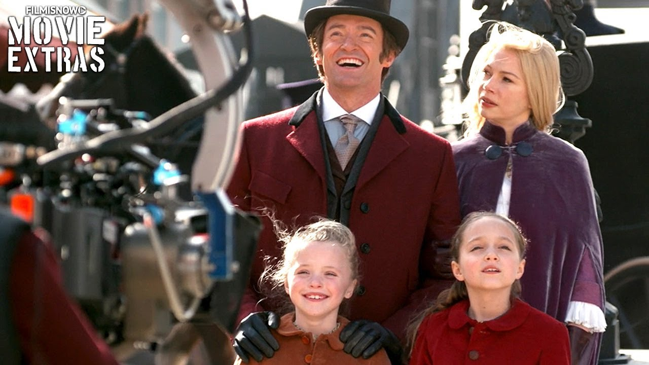 go behind the scenes of the greatest showman 2017 youtube