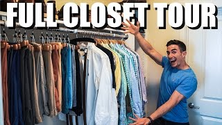 FULL CLOSET TOUR - MENS FASHION