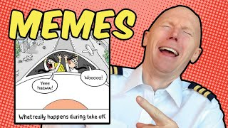 Aviation Memes - Airline Pilot Reacts