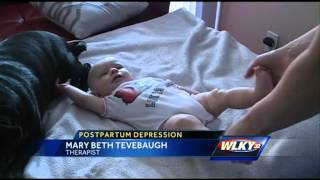 Mother shares experience with postpartum depression