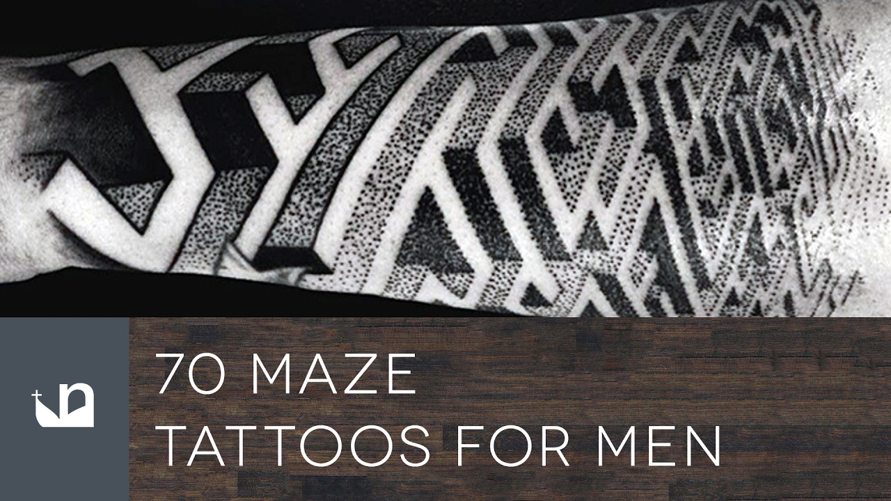 70 Maze Tattoos Tattoos For Men Youtube