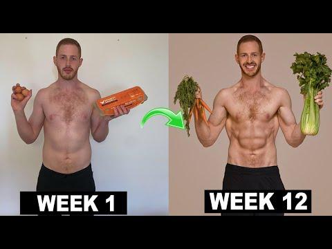 12 Week Vegan Body Transformation (Game Changers Diet) || Max's Monthly Challenge
