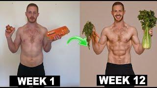 12 Week Vegan Body Transformation (Game Changers Diet)  Max&#39s Monthly Challenge