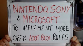Nintendo Sony Andamp Microsoft To Implement More Open Loot Box Rules
