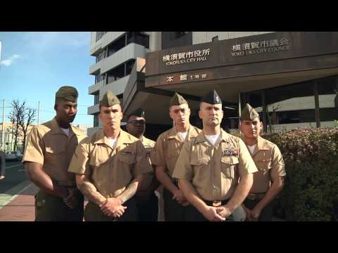 Sailors and Marines Awarded By Yokosuka Mayor