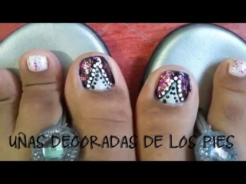 U as decoradas de los pies peditime decorate las u as - Unas de pies decoradas ...