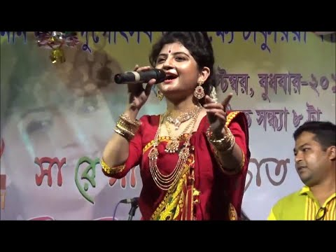 Aditi Munshi live with her favourate song