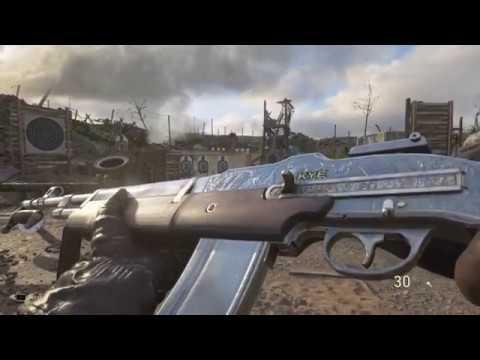 Call of Duty WWII HIDDEN CHROME CAMO UNLOCKED