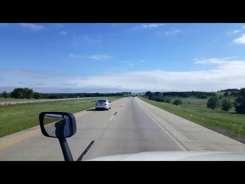 BigRigTravels LIVE! - Tulsa to Springer, Oklahoma - Interstate 44 and 35 - April 26, 2017