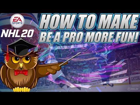 How To Make NHL Be A Pro FUN Again! (NHL 20 Career Mode)