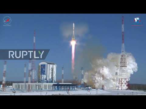 Russia: Carrier rocket with 11 satellites fires into space from Vostochny Cosmodrome