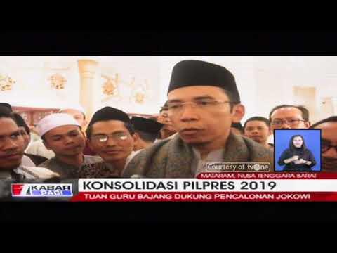 Tuan Guru Bajang (TGB) Tegaskan Dukungannya Untuk Jokowi