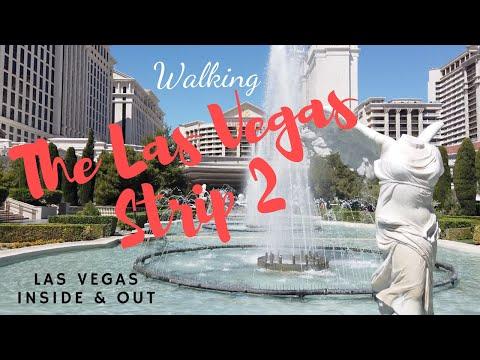 Walking The Las Vegas Strip 2 - Flamingo to (Old) Desert Inn