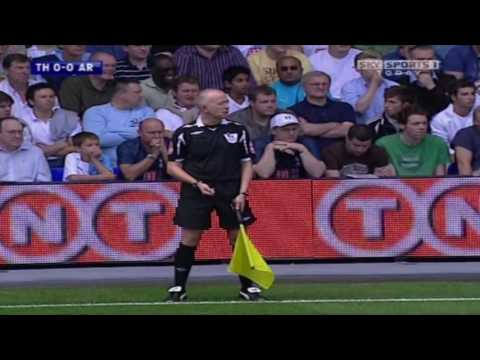 Tottenham 1-3 Arsenal PL 2007/08 FULL MATCH