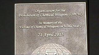 В Бельгии почтили память жертв первой химической атаки, совершённой 100 лет назад