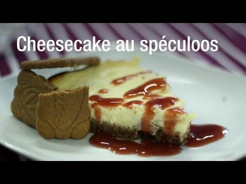 recette de cheesecake au sp culoos youtube. Black Bedroom Furniture Sets. Home Design Ideas