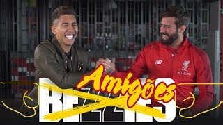 BEZZIES with Alisson and Firmino | Who is Bobby